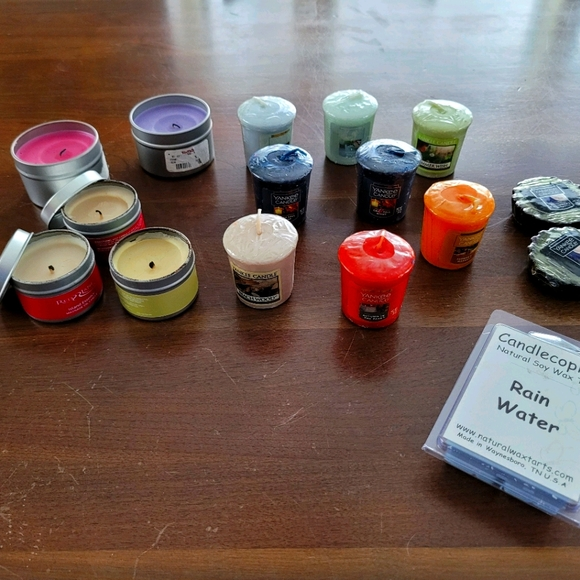 candle votives and tarts and gifts